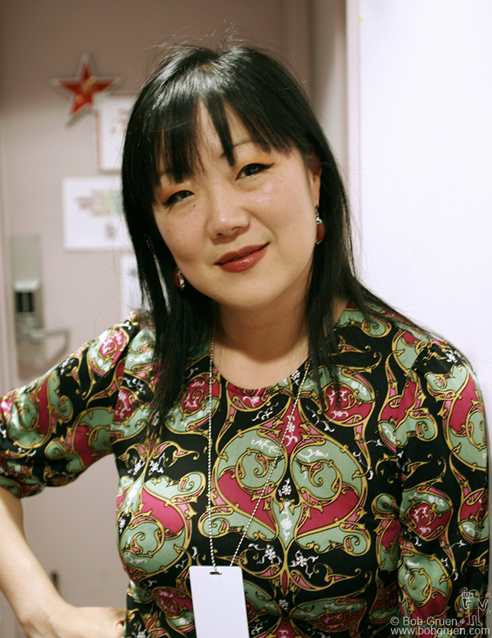 Margaret Cho, MC of the evening kept the house laughing between each of the many acts.