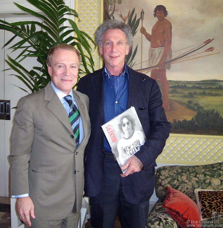 July 1 - Sao Paulo - I had one more photo with the President of FAAP, Dr. Biaz and then it was back to the USA for me. What a wonderful experience this has been. I hope the exhibition will be presented again somewhere! Meanwhile, check out the ROCKERS book.