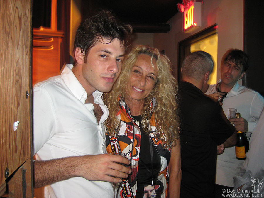 Mark is having a very good year, with songs he produced for Lily Allen and Amy Winehouse, and now his own solo CD, high on the charts. Backstage at Highline Mark's mom, Ann Dexter Jones, catches up with her busy son.
