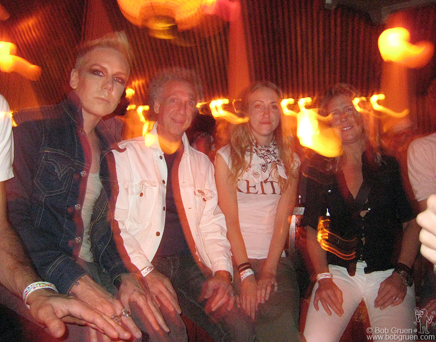Thanks to my friend Lyle Derek (who took this photo) we got treated real well at Hiro Ballroom and had a good seat with Miss Guy.
