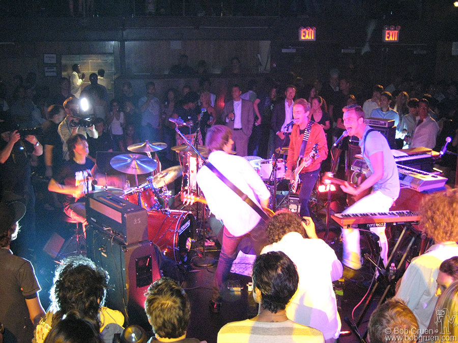 Hot New York band Arckid were the center of attention at the Hilfiger Jam party.