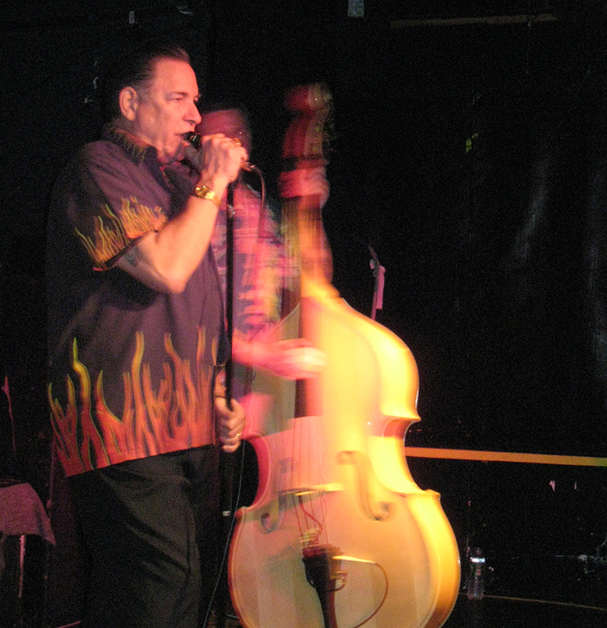 Robert Gordon has the best voice in '50's style rock and he proved it once again at Don Hill's.