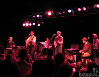 My son Kris Gruen played a series of dates across the US with a band including his brother JJ on piano. They started the tour with a show opening for Sean Lennon at the Higher Ground club in Burlington, VT.
