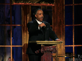 Reverend Al Sharpton pays tribute to James Brown.
