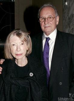 Author Joan Didion & art dealer Earl McGrath