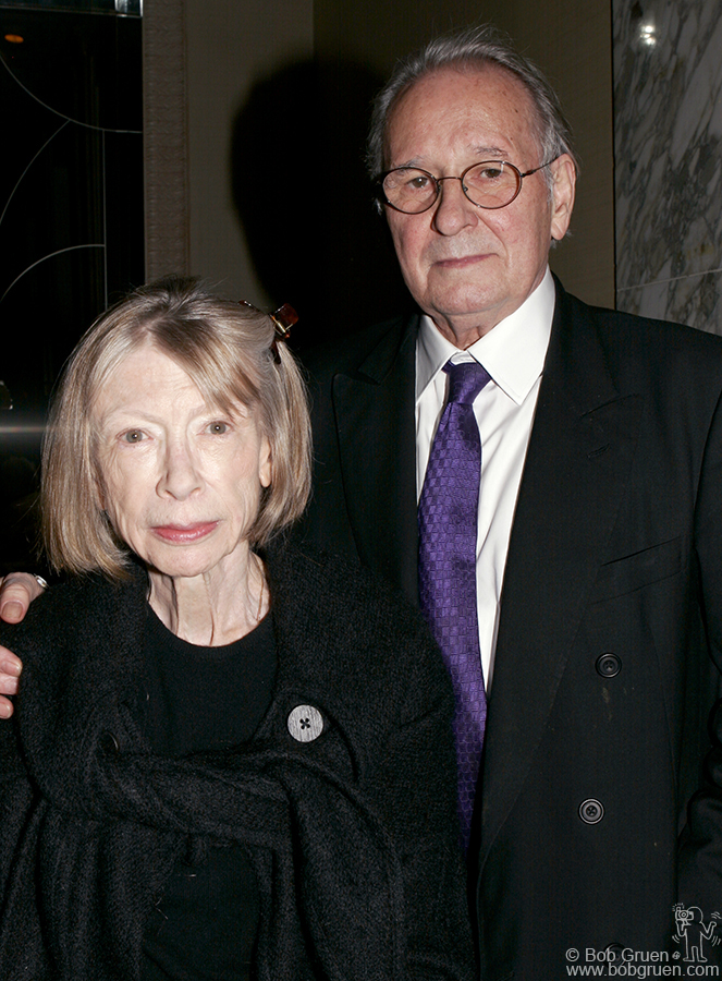 Author Joan Didion & art dealer Earl McGrath