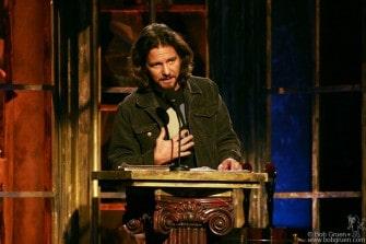 Eddie Vedder inducts R.E.M.