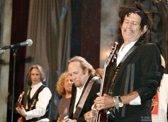 Lenny Kaye, Sammy Hagar, Stephen Stills & Keith Richards
