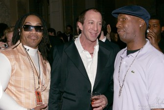 Melle Mel, Tom Silverman & Grandmaster Flash