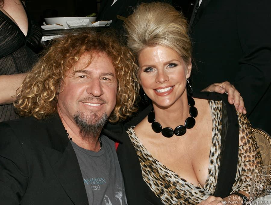 Sammy Hagar & wife Kari Karte