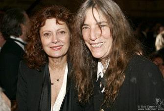 Susan Sarandon & Patti Smith