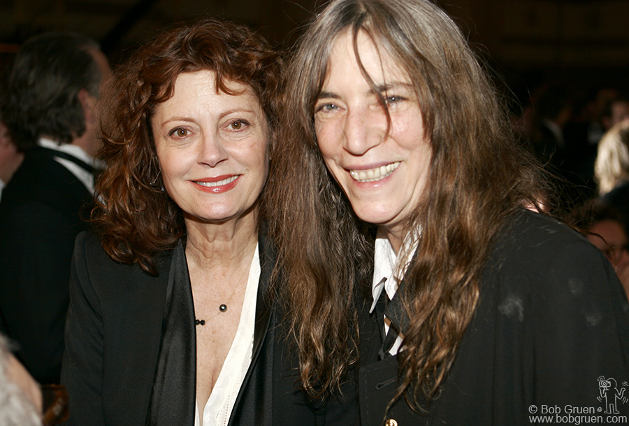 Susan Sarandon & Patti Smith