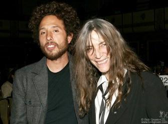 Zack de la Rocha of Rage Against the Machine & Patti Smith