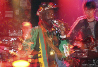 "Sept 25 - Reggae Producer/Legend Lee ""Scratch"" Perry played in late September, just a few weeks before CBGB closed. CB's has always had a real variety of acts."