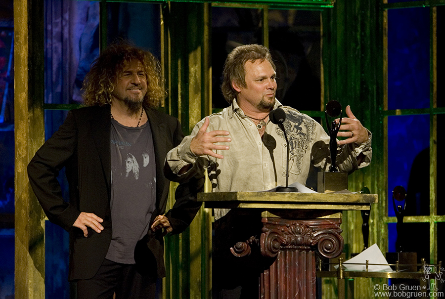 Sammy Hagar & Michael Anthony of Van Halen