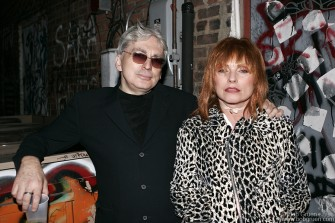 Chris Stein and Debbie Harry from Blondie got one last look at the back alley when they went out there at the request of the film crew making a documentary of the last days.