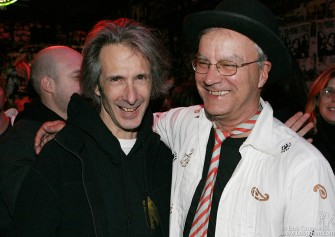 Lenny Kaye and Walter Lure hung out at the bar for the rest of the night reminiscing about the old days.