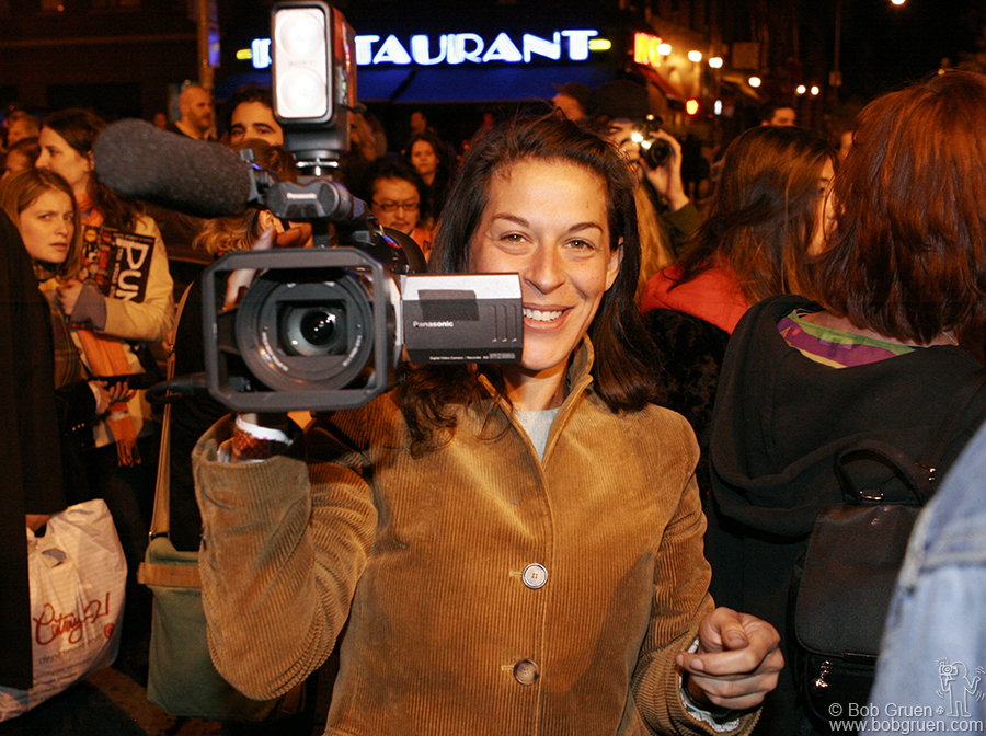 Oct 15 - NYC - Mandy Stein has grown up in the music business and now has built a career as a video producer and it made total sense that she was the one to make a documentary of the club's final days.