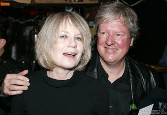 Oct 15 - Tina Weymouth and Chris Frantz, who made their reputation in Talking Heads and the Tom Tom Club at CBGB were there for the final shows.