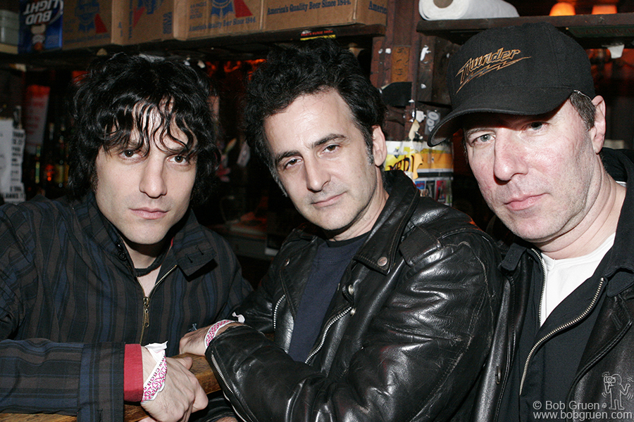 Jesse Malin, Daniel Ray and Andy Shernoff all played in CBGB, each in several bands over the years, and were there again for the last time.
