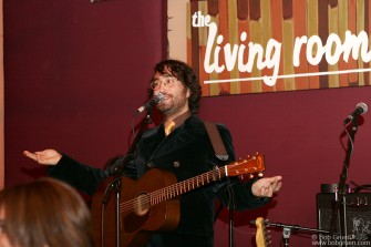 Oct 29 - Sean's record release party was held at the Living Room, NYC.