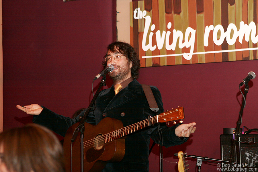 Oct 29 - NYC - Sean's record release party was held at the Living Room, NYC.