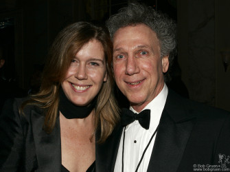 We asked Annie Leibovitz to take a photo of us. Thanks Annie! - Elizabeth & Bob Gruen