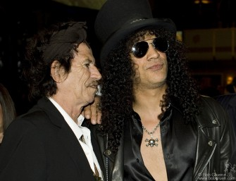 Keith Richards & Slash