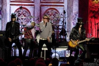 Velvet Revolver performs Van Halen songs.