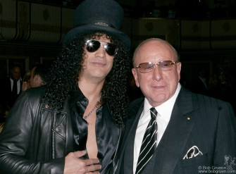 Slash & Clive Davis