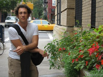 "My son, Kris Gruen spent the summer working in New York on his new CD ""Lullaby School""."