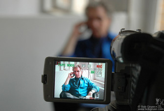 I was in Berlin to meet and talk to the press to promote the German language edition of my book. I did non-stop interviews in person and on the phone and on TV. I like this photo by Hanna Toresson.