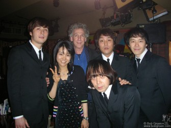 "I met the the ""Silver Beats"" at the Cavern Club in Tokyo when their friend Takae invited me. They were really fun."