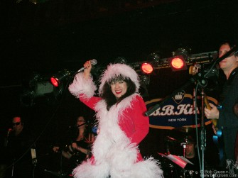 "It's not Christmas in New York until you see Ronnie Spector sing ""White Christmas"". This year she was at BB Kings Club and she was, well, Spectacular!"