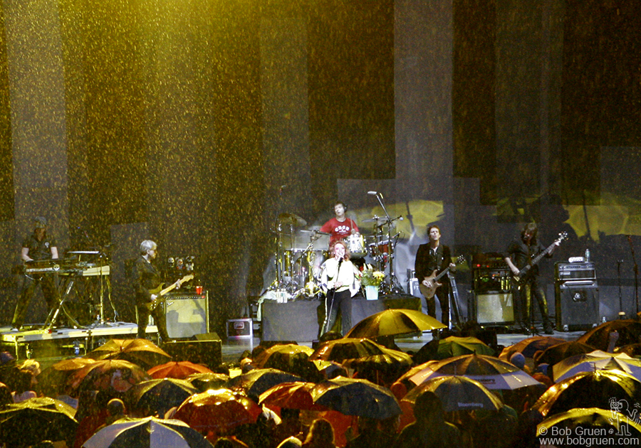 June 9 - Wantagh, NY - The summer started with Blondie playing at Jones Beach along with The New Cars in the pouring rain.