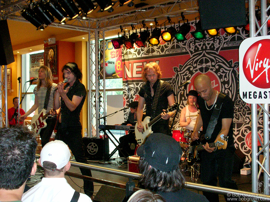 June 29 - NYC - Swedish band The Ark played Virgin Megastore at Union Square.