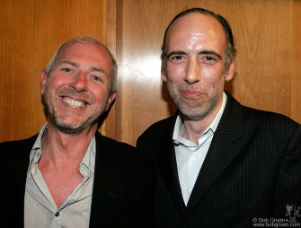 "Tony James and Mick Jones are all smiles as they told me about their new band ""Carbon Silicon""."