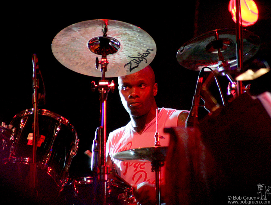 June 16 - London - Drummer Gary Powell usually plays with the Libertines, but he was great with the NY Dolls!