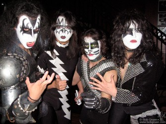Sept 13 - Hard working tribute band KISSNATION performed at the Virginia Louise Wine Party held at B.B Kings, NYC.