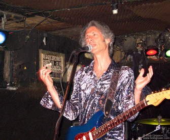 Lenny Kaye played one last time reminiscing about all the great shows held there.