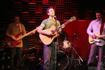 "June 30 - My son Kris Gruen played a number of shows this summer to promote his CD ""Lullaby School"" at Joe's Pub."