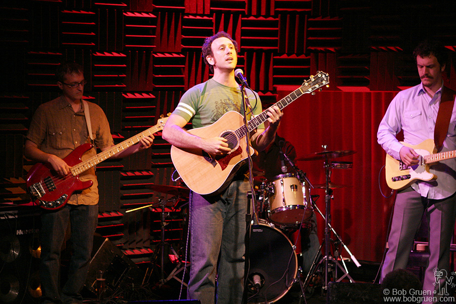 "June 30 - NYC - My son Kris Gruen played a number of shows this summer to promote his CD ""Lullaby School"" at Joe's Pub."