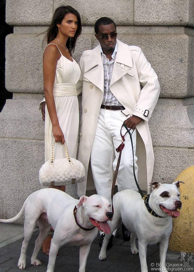 "July 29 - NYC - Sean ""P. Diddy"" Combs lookin' good!"