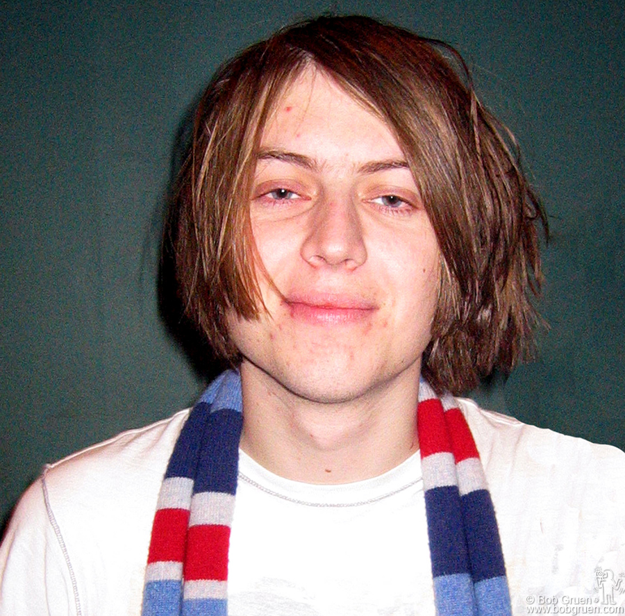 April 12 - NYC - Craig of the Vines after their sold out show at Roseland.