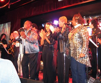 "Sam Moore led a real soulful show at BB King's Blues Club after the opening of the new film ""Only the Strong Survive""."