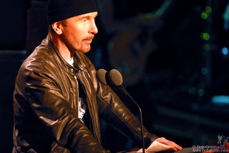 The Edge spoke of how inspiring the Clash were to him saying there would have been no U2 without the Clash.