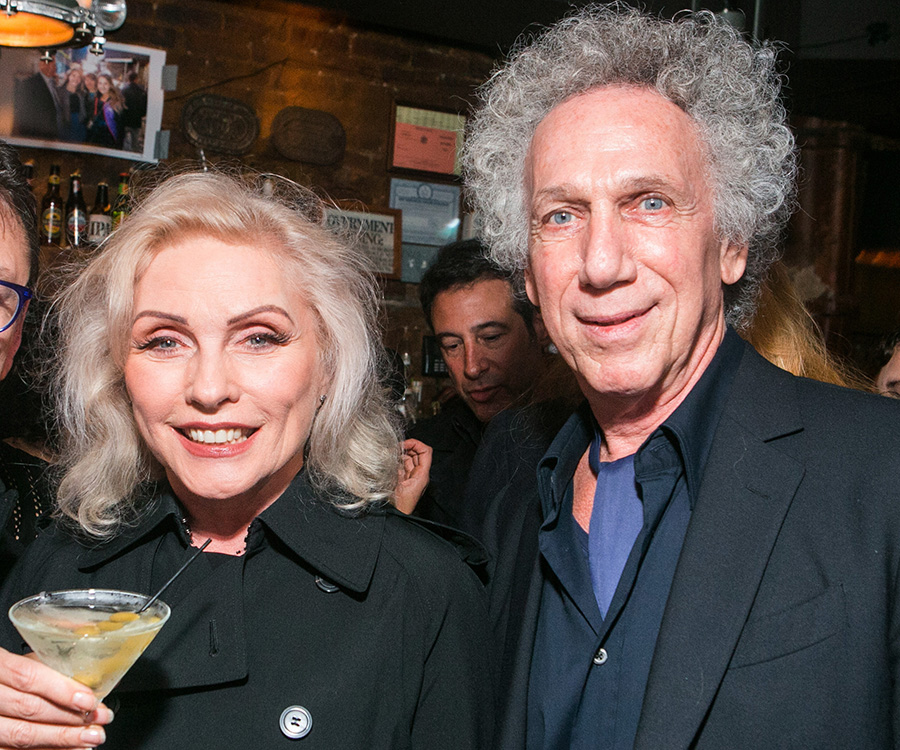 Debbie Harry enjoyed the great show at my birthday party. Photo by David Appel.