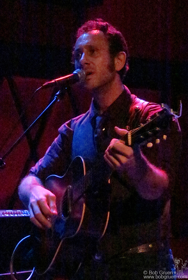 Nov 10 - NYC - My son, Kris Gruen came to New York and played with his band.