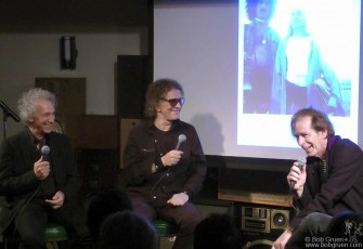 Sept 30 - I was in a conversation with Mick Rock moderated by Legs McNeil which turned out to be a very funny night.