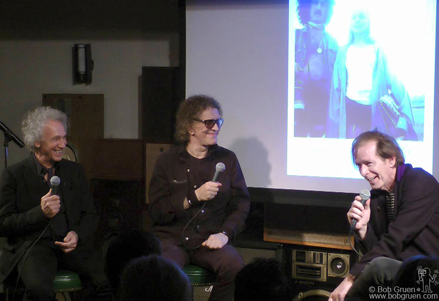 Sept 30 – NYC - I was in a conversation with Mick Rock moderated by Legs McNeil which turned out to be a very funny night.